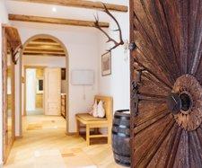 Eingangsbereich in der Private Suite Hoffischergasse Top 1
