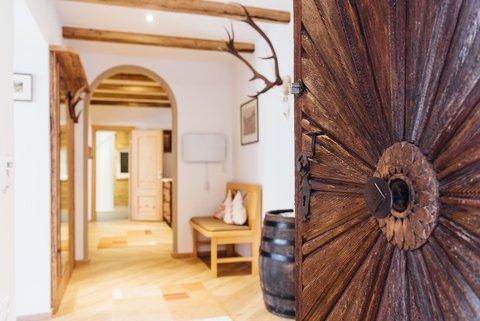 Eingangsbereich zur Private Suite Hoffischergasse Top 1