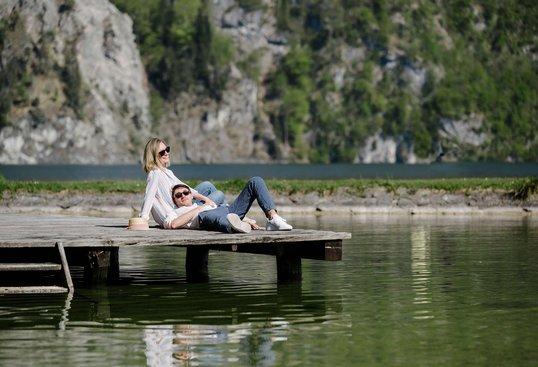 Entspannung finden am Traunsee