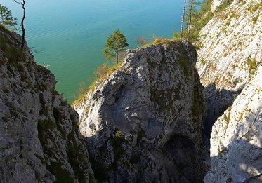 Aussicht beim Bergsteigen am Traunstein, (c) Karl Heiz Ruber