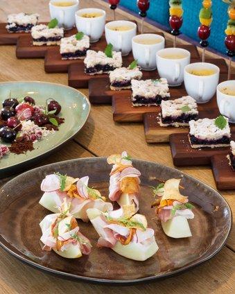 Gourmet Pause für Seminare in der Post am See