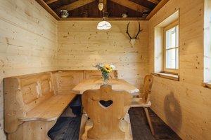 Grillhütte von Innen