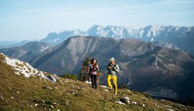 Wanderung mit Panorama, © STMG