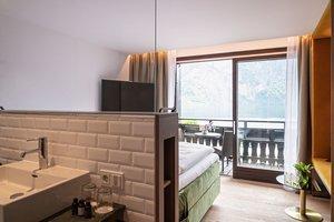 Kuschelzimmer mit Seeblick und Balkon