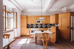Voll ausgestattete Küche im Klosterrefugium