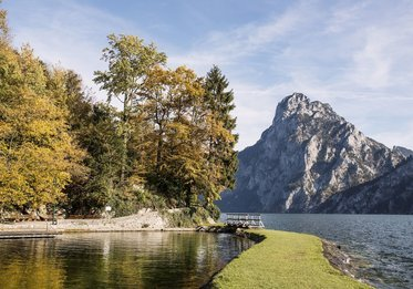 Herbststimmung am Traunsee