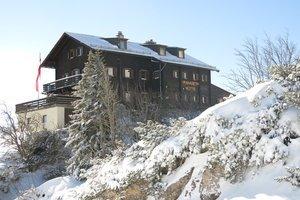 Kranabethhütte im Winter