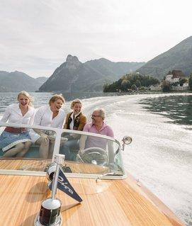 Bootsfahrt mit Familie Gröller