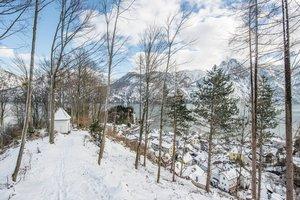 Halbinsel Traunkirchen im Winter