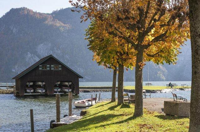 Herbststimmung am Traunsee genießen