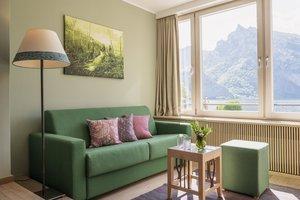 Mini Suite mit Seeblick und Wintergarten
