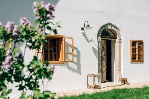 Blick auf die Eingangstüre