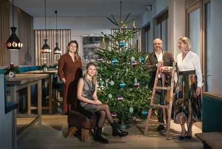 Weihnachten mit der Familie Gröller
